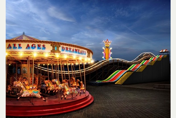 Check out Dreamland at night with new Twilight Ticket
