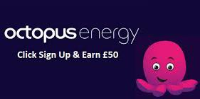 Octopus Energy Referral £50 Offer